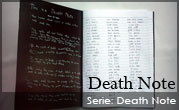 Death Note – Death Note Props