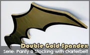 Panty & Stocking with Garterbelt – Double Gold Spandex